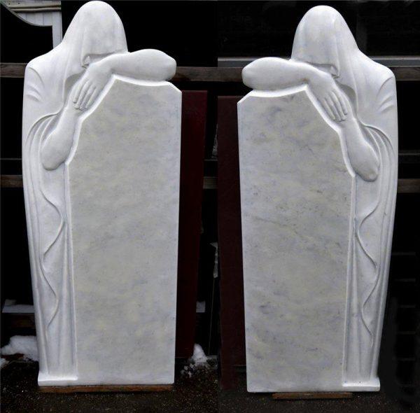 Надгробный памятник: Скорбящий силуэт