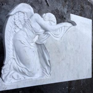 Надгробный памятник: Горизонтальный со склонившимся ангелом