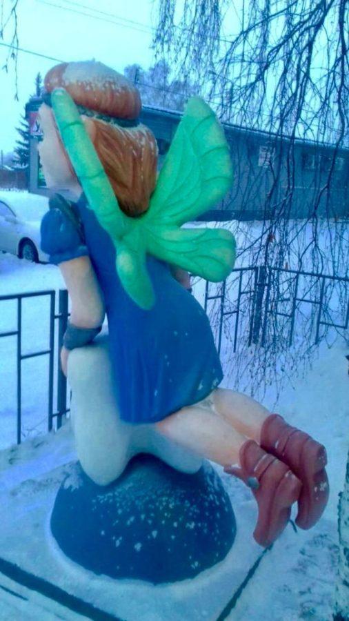 Скульптура Зубная Фея. Фигура из пенопласта и стеклопластика