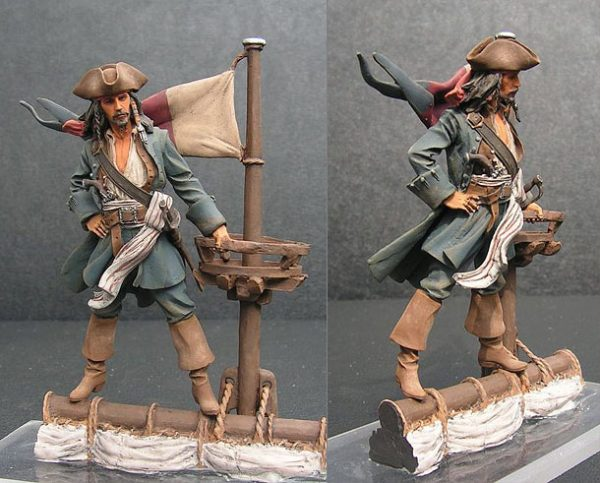 Фигура из стеклопластика: Герои Пиратов Карибского моря