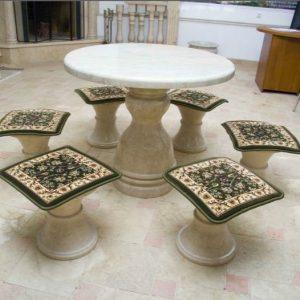 Дачный стол и стулья для обустройства территории