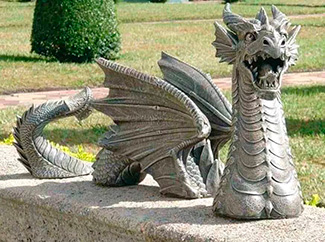 Парковые статуи из бетона
