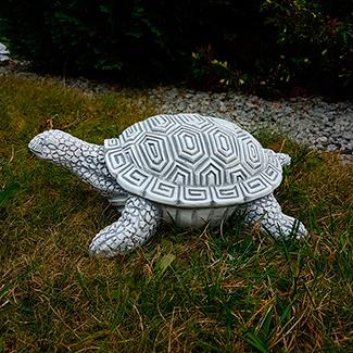 Парковая скульптура черепахи из бетона