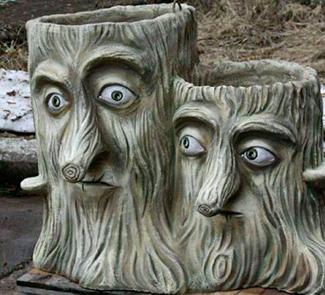 Фигуры из арт-бетона для садов и парков