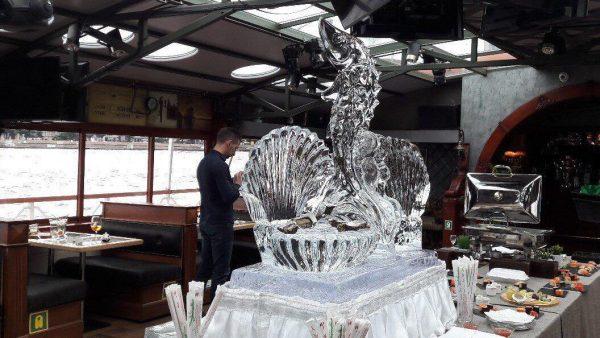 Ледяные скульптуры из серии Ледяной бар