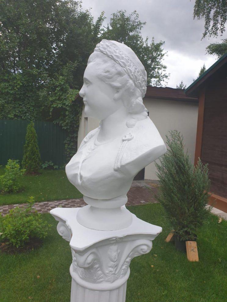 Бюст на заказ: Екатерина Вторая