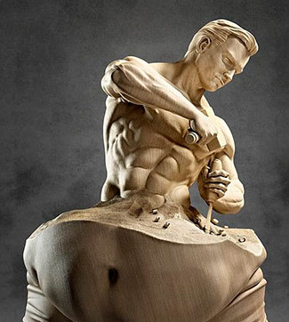 Знаменитые статуи из камня