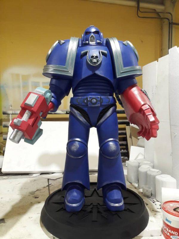 Скульптура из пенопласта и стеклопластика: Роботы