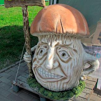 Садовые фигуры из арт бетона