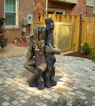 Парковые и садовые скульптуры из бетона