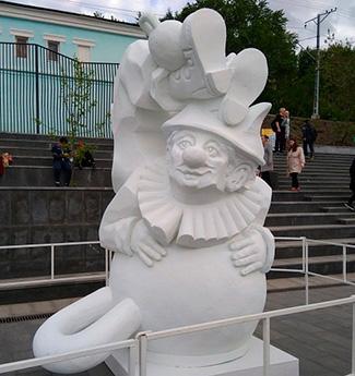 Скульптуры из пенопласта на заказ