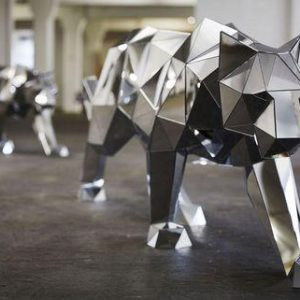 Полигональная скульптура: Давид Микеланджело