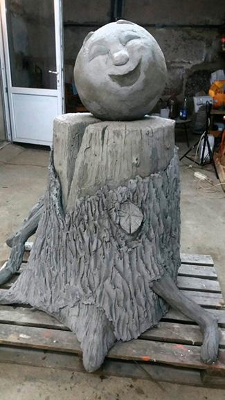 Скульптуры из бетона на заказ