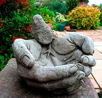 Парковые скульптуры из арт бетона