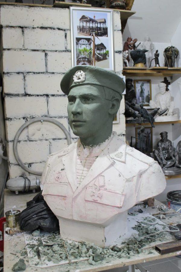 Бюст на заказ: Солдат 6 роты