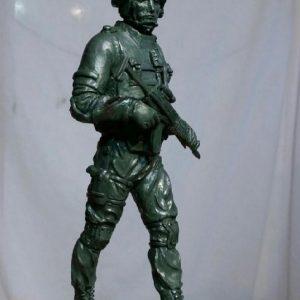 Скульптура: Спецназовец