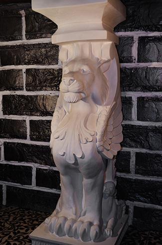 Красивые гипсовые скульптуры