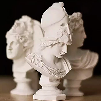 Недорогие скульптуры и бюсты из гипса
