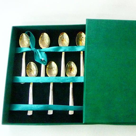 Футляры подарочные: для хранения чайных ложечек