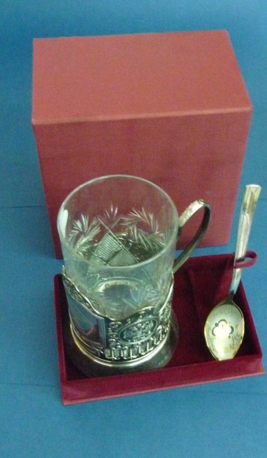 Футляры подарочные: для стакана и ложечки