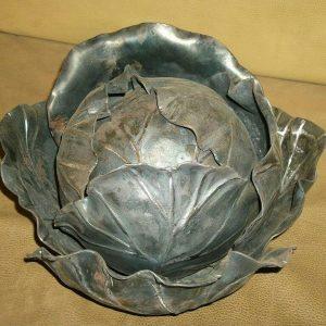 Кованое изделие: кочан капусты