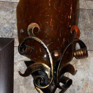 Кованые изделия: светильник