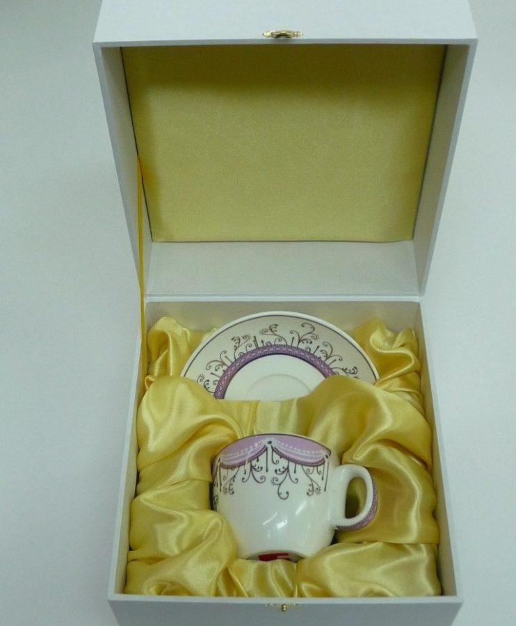 Футляры подарочные: для чайной чашки и блюдца