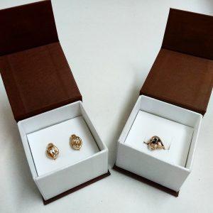 Футляры подарочные: коробочки для ювелирных украшений