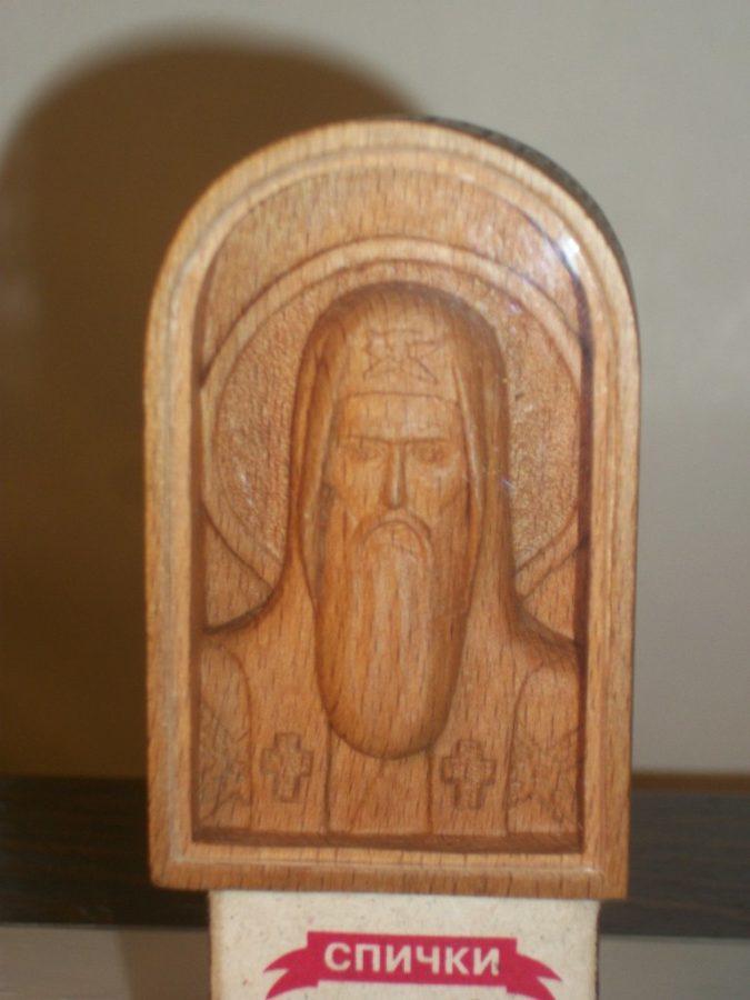 Икона из дерева: миниатюрный образ Филарета Московского