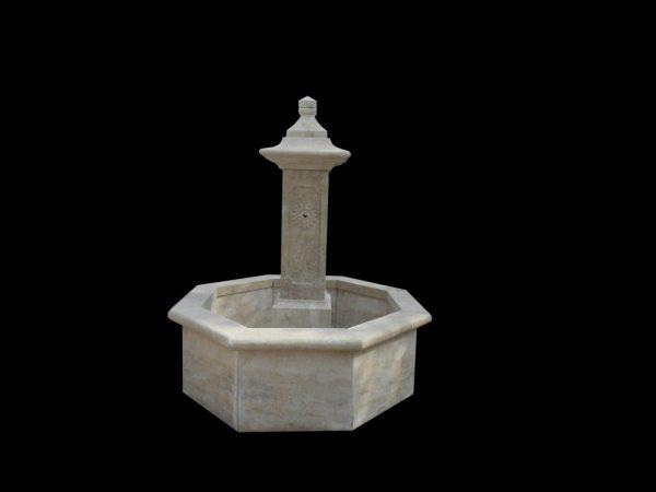 Фонтан из мрамора: Напольный интерьерный фонтан-01