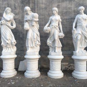 Скульптура из мрамора: Резные скульптуры ручной работы