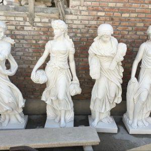 Скульптура из мрамора: Резные скульптуры ручной работы-01