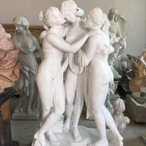 Скульптура из мрамора: Статуя красоты