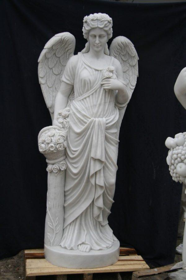 Скульптура из мрамора: Статуя ангела-01