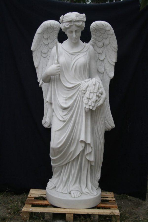 Скульптура из мрамора: Статуя ангела-02