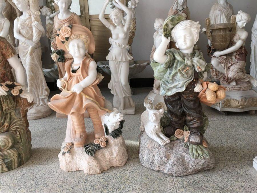 Скульптура из мрамора: Детские скульптуры из мрамора