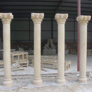 Скульптура из мрамора: Напольные мраморные колонны