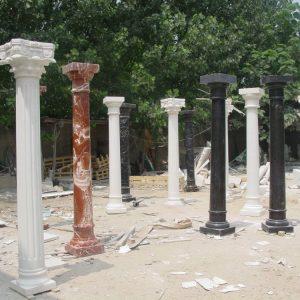 Скульптура из мрамора: Напольные мраморные колонны-01