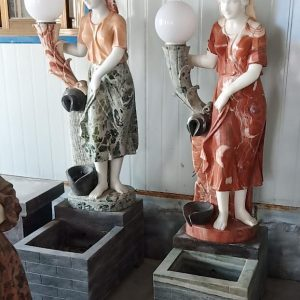 Фонтан из мрамора: Крытый фонтан