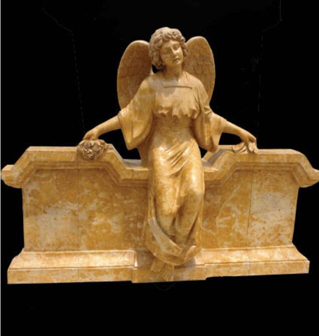 Скульптура из мрамора: Статуя ангела-06