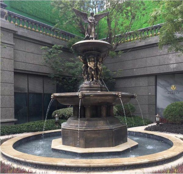 Скульптура из бронзы: Фонтан-01