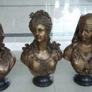 Скульптура из бронзы: Бюсты под заказ