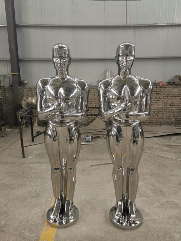 Скульптура из нержавеющей стали: Статуэтка Оскар