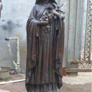 Статуя из бронзы: Статуя для церкви-01
