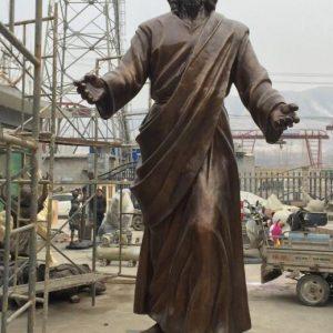 Статуя из бронзы: Статуя для церкви-04
