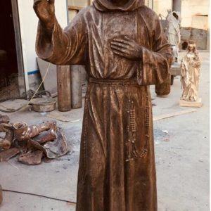 Статуя из бронзы: Статуя для церкви-03