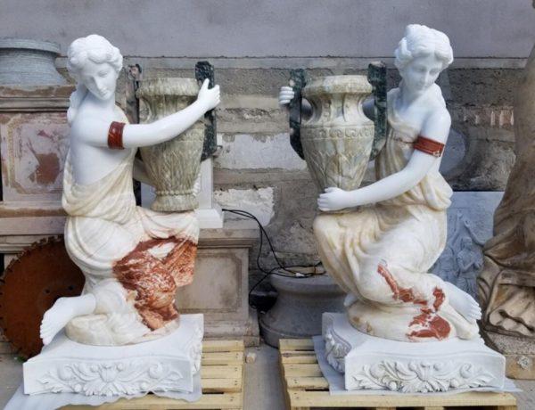 Скульптура из мрамора: Статуя леди-01