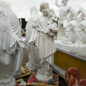 Скульптура из мрамора: Статуя для церкви-01
