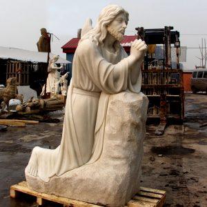 Скульптура из мрамора: Статуя святого-02