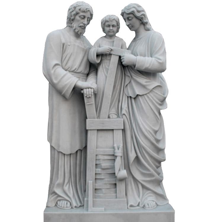 Скульптура из мрамора: Статуя для церкви-02